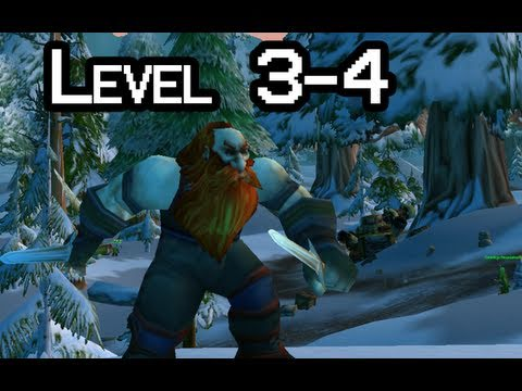 Let-s Play WoW with Nilesy - Levels 3-4 (World of Warcraft gameplay)