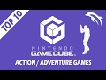 top 10 / best nintendo gamecube action/adventure games of all time!   dolphin emulator [1080p hd]