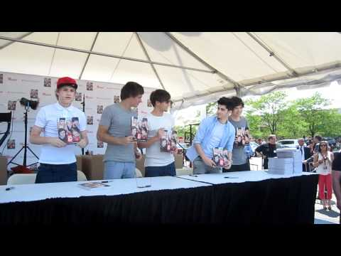 One Direction book signing in Chicago-area