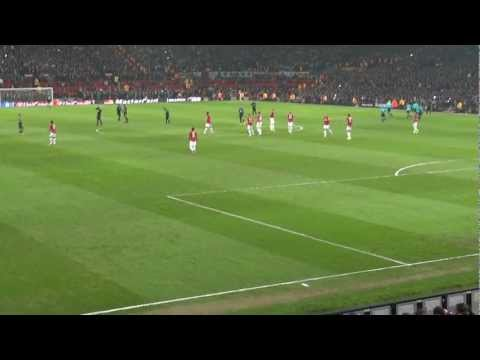 Cristiano Ronaldo: ENORME OVAÇÃO no regresso a Old Trafford! Old Trafford cheers CR7 come back