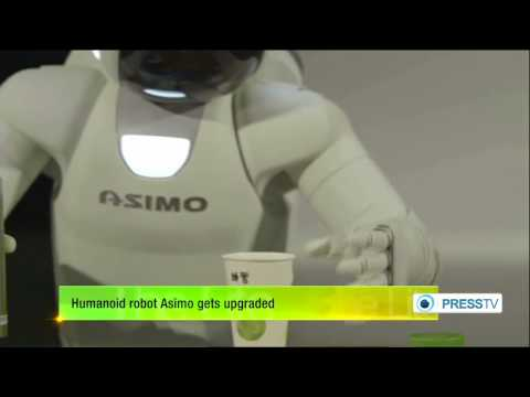 Humanoid robot Asimo gets updates   7/17/14     (Technology)