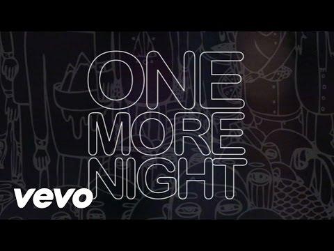Maroon 5 - One More Night (Lyric Video)