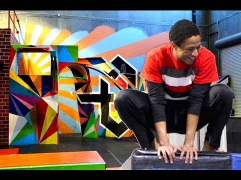 Dubstep Parkour (Freerunning and Gymnastics at Tempest Freerunning Academy