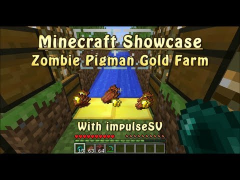 Pigman Farm Overworld Zombie Pigman Gold Farm