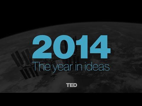 The Year in Ideas: TED Talks of 2014 poster