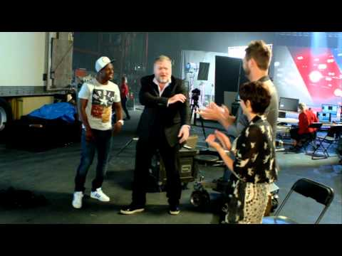 AUSTRALIA'S GOT TALENT 2012 - Brian, Dannii and Kyle learn Timomatic's moves.