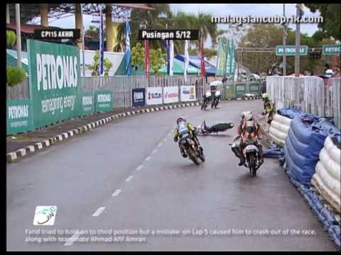 Round 3 - CP 115 Race News - 2012 PETRONAS Malaysian Cub Prix Championship