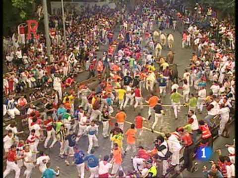 Sexto encierro de San Fermín 2009