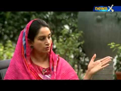 Straight talk with Harsimrat Kaur Badal