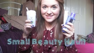 JDRMakeUp – Small Beauty Haul!