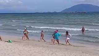 Видео отдых на пляже