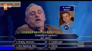 Kim Milyoner Olmak Ister 214. bölüm Mustafa Şükrü Şenocak 04.05.2013 öğretim görevlisi profesör