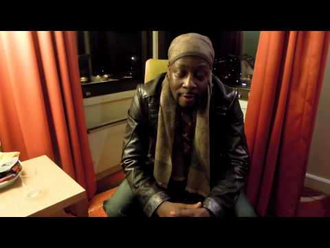 Wyclef Jean shout out for the Karlstad- Sweden show 15th Feb 2013 @ Nojesfabriken