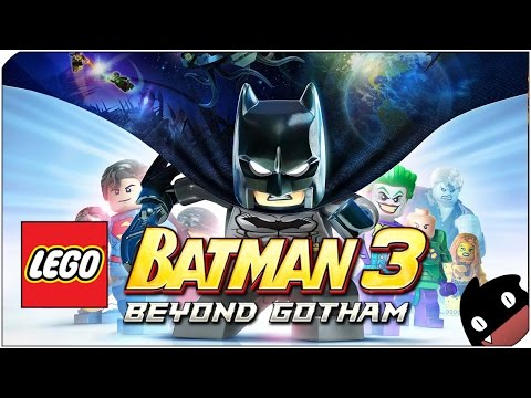 Lego Batman 3 en español - 01 - Persecución en las alcantarillas