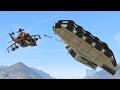 UPSIDE DOWN FLYING TANK KILL! (GTA 5 Funny Moments)