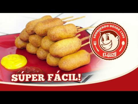 Mini Corn Dogs (Banderillas) - El Guzii