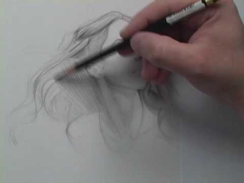 كيف ترسم شعر الإنسان