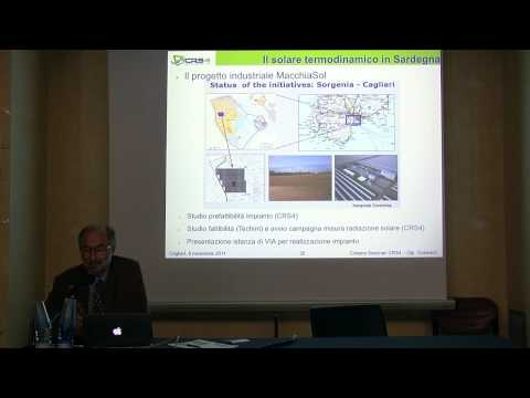 Video integrale: Energia solare a concentrazione - Bruno D'Aguanno