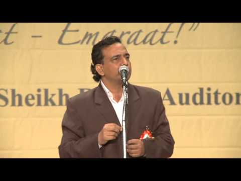6. Iqbal Ashar - Hamari Association Mushaira - Dubai 2012
