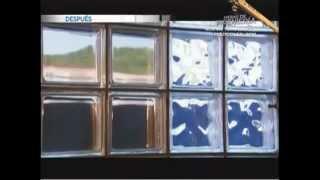 Bloques de vidrio para construccion como se fabrican - YouTube.flv