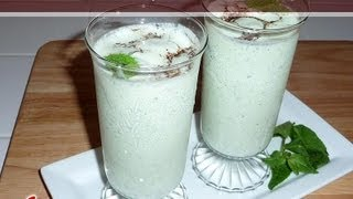 Salted Mint Lassi..