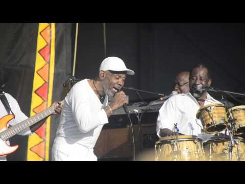 Frankie Beverly and Maze at Jazz Fest 2013 05-05-2013 The Morning After, I'm Back In Stride Again
