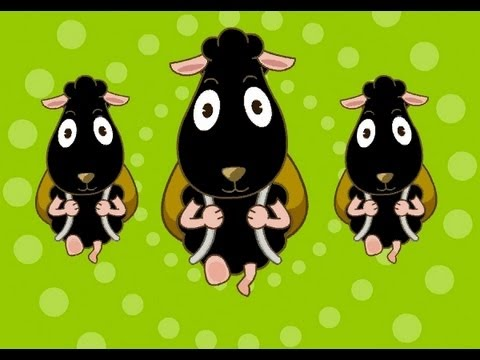Baa Baa Black Sheep  | nursery rhymes & children songs with lyrics | muffin songs
