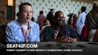 SDCC 2012 – Elementary – Producers Interview