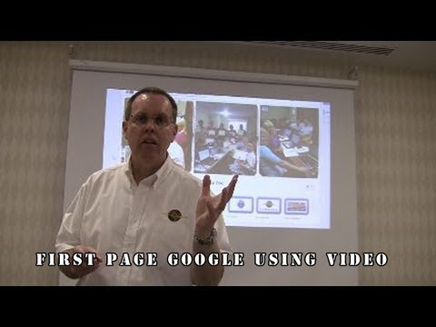 How to use video to get first page Google and YouTube