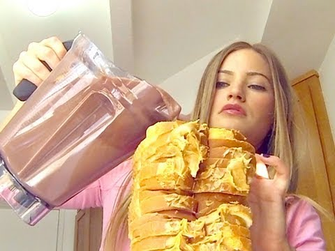 How to Make a Peanut Butter Jelly Sandwich in a Blender | iJustine