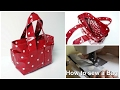 Box Bag - Easy Sewing Everyday Handbag