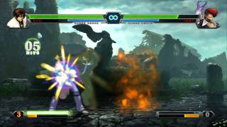 The King of Fighters XIII: NESTS Style Kyo Console Combo Showcase view on youtube.com tube online.