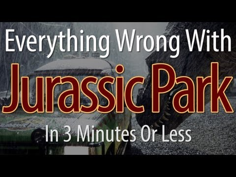 Thumbnail image for 'CinemaSins: How many do you think are in Jurassic Park?'