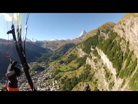 Paragliding Zermatt 2012