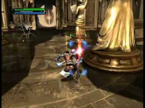 Star Wars The Force Unleashed: Jedi temple level part 1/3