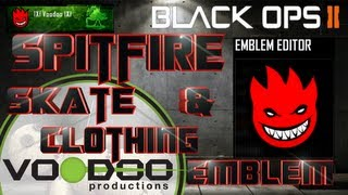 Spitfire Skate / Clothing, Black Ops 2 Emblem Tutorial, Episode 2