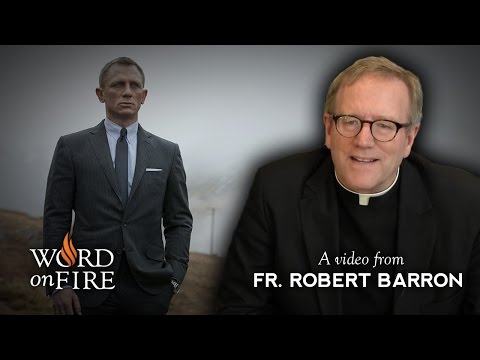 "Thumbnail image for 'James Bond is Catholic?  Fr. Barron Reviews ""Skyfall""'"