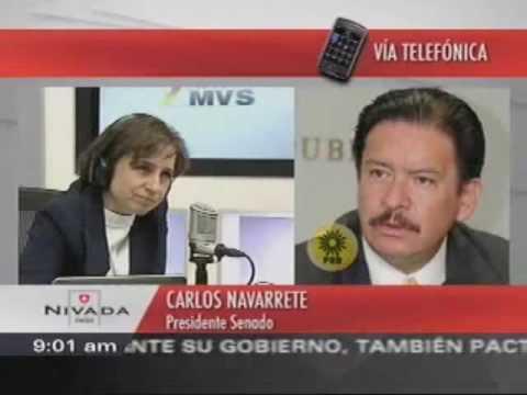 Entrevista censurada por televisa y tv azteca, Carlos Salinas esta detras de Enrique Peña Nieto