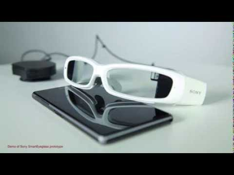 Sony SmartEyeglass concept: official demo