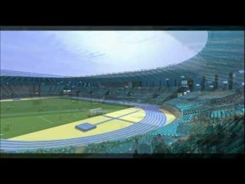 Remodelacion estadio la portada maqueta virtual | Video