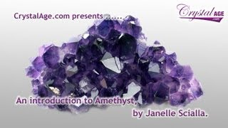 Healing Crystals Guide - Amethyst