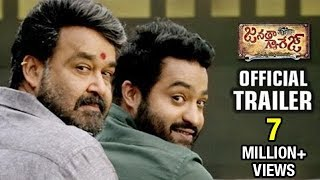 Janatha Garage Telugu Theatrical Trailer   Jr NTR   Mohanlal   Samantha   Nithya   Koratala Siva