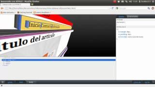 Desarrollo web con HTML5: 8.- Estilizando la navbar