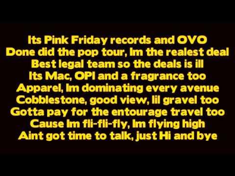 Drake - Make Me Proud ft Nicki Minaj [ Lyrics ] (Take Care)