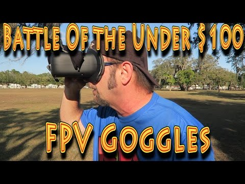 Review: Battle of the Sub $100 FPV Goggles!!! (12.21.2016) - UC18kdQSMwpr81ZYR-QRNiDg