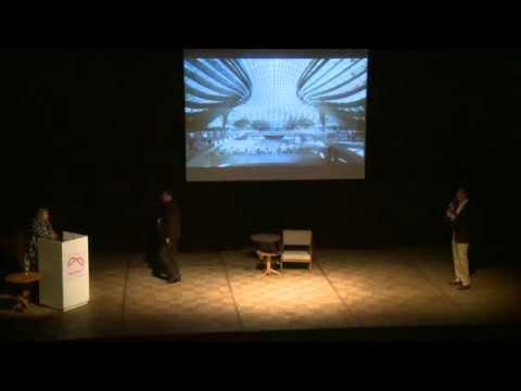 Palestra de Zaha Hadid - Arq.Futuro Rio de Janeiro 2012