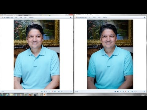 DSLR Photography Tips - Low light indoor shot using reflector for better illumination.
