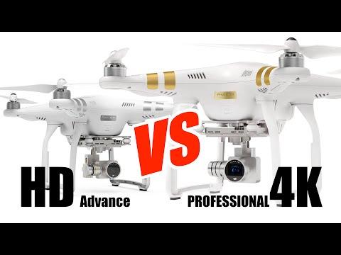 Phantom 3 Professional & Advanced Comparison - HeliPal.com