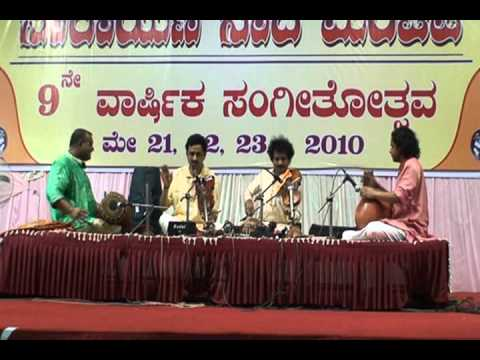 Mysore Nagaraj and Mysore Manjunath - Raagam Tanam Pallavi (Thodi)