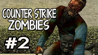 Zombie Escape / Zombies (Counter-Strike GO Mod) w/Nova & Sp00n Ep.2: I SCREAM A GIRLY SCREAM view on youtube.com tube online.